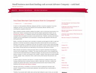 cashfundbusiness.wordpress.com screenshot