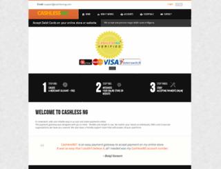 cashlessng.com screenshot