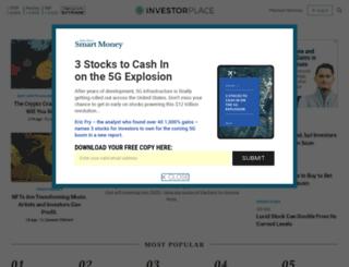 cashmachinetrader.investorplace.com screenshot