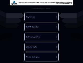 cashpaidforyourcar.com screenshot