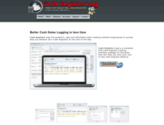 cashregisterlog.com screenshot