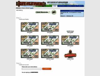 cashrewards.git-r-free.com screenshot