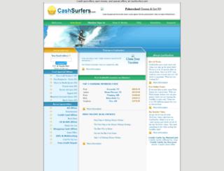 cashsurfers.com screenshot