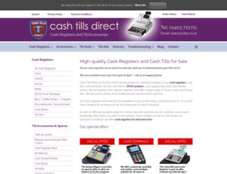 cashtillsdirect.co.uk screenshot