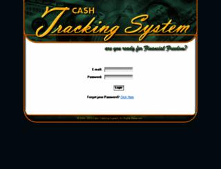 cashtrackingsystem.com screenshot