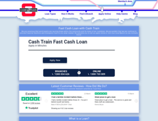 cashtrain.com.au screenshot
