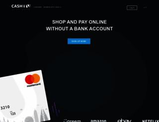 cashu.com screenshot