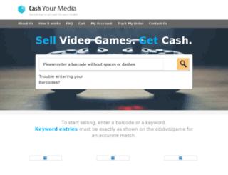 cashyourgames.com screenshot