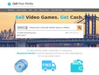 cashyourmedia.com screenshot