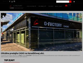 casio-eshop.sk screenshot
