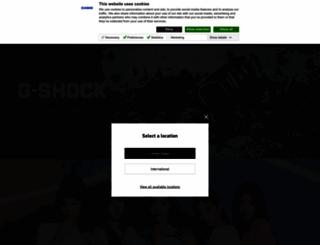 casio-intl.com screenshot