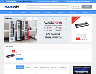 casiom.com screenshot
