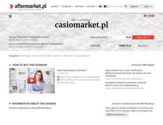 casiomarket.pl screenshot