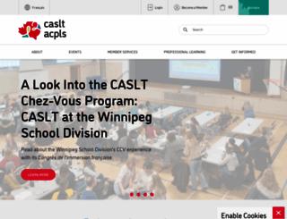 caslt.org screenshot