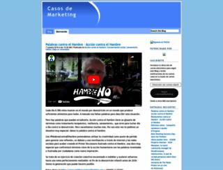 casosdemarketing.com screenshot