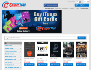caspermall.net screenshot