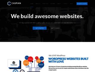 caspianservices.net screenshot