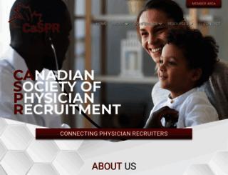 caspr.ca screenshot