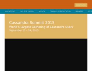 cassandrasummit-datastax.com screenshot