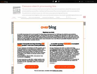 cassavaprocessingmachine.over-blog.com screenshot