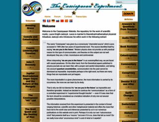 cassiopaea.org screenshot