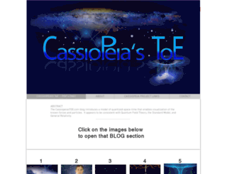 cassiopeiaproject.com screenshot