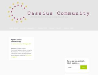 cassiuscommunity.altervista.org screenshot