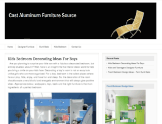 castaluminumfurnituresource.com screenshot