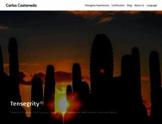 castaneda.com screenshot