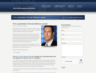 castellanolegal.com screenshot