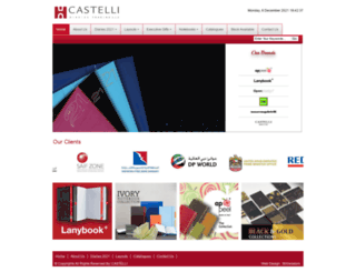 castelli.ae screenshot