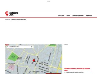 castellon-de-la-plana.callejero.net screenshot