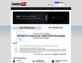 caster.fm screenshot