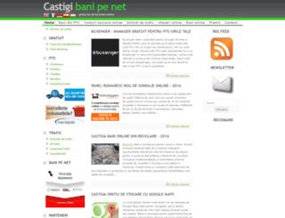 castigi-bani-pe-net.ro screenshot
