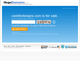 castillodesigns.com screenshot