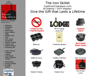 castironcookware.com screenshot