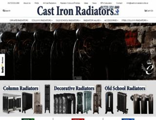 castironradiators.ltd.uk screenshot