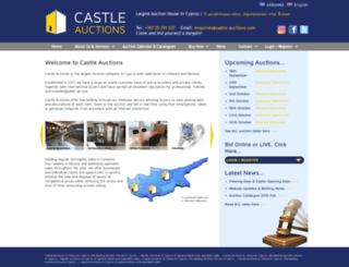 castle-auctions.com screenshot