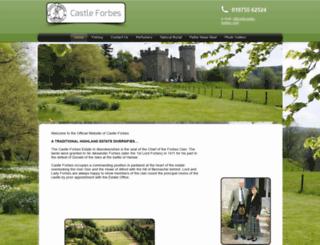 castle-forbes.com screenshot