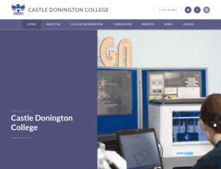 castledonington.leics.sch.uk screenshot