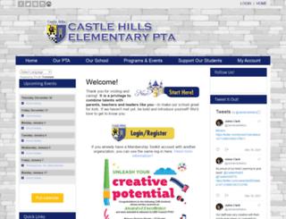 castlehillspta.membershiptoolkit.com screenshot