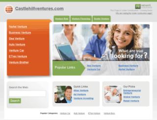 castlehillventures.com screenshot