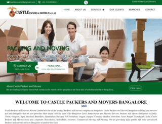 castlepackersandmovers.com screenshot