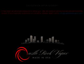 castlerockvapor.com screenshot