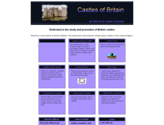 castles-of-britain.com screenshot