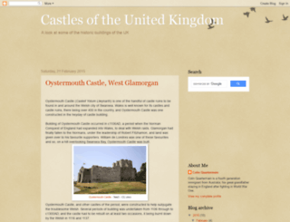 castlesoftheuk.blogspot.co.uk screenshot