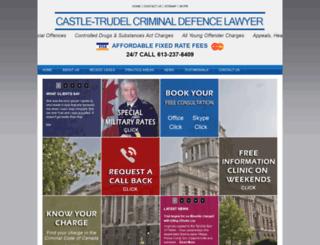 castletrudel.com screenshot