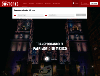 castores.com.mx screenshot