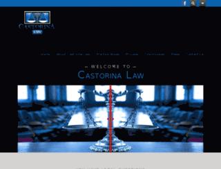 castorinalaw.com screenshot