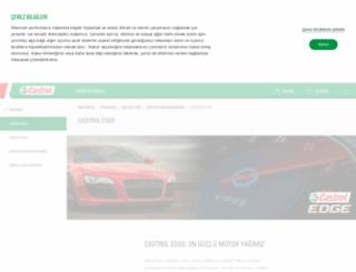 castroledge.com.tr screenshot